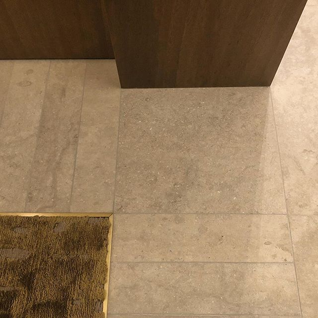 "So much time, effort and coordination goes into these small details that most people will never notice and walk right past. But for the few who do and a client that does it's all worth it. Big props to my team for over analyzing every square inch of this project and our trades who had to up their game to pull this off. Our standard "" if it's perfect it stays, if it's not will need to try again .🧐 Perfection Matters!!! . . . . . . . . ."